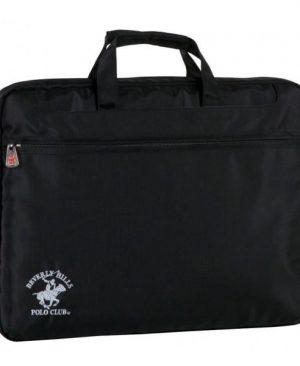 geanta laptop polo club 13 negru