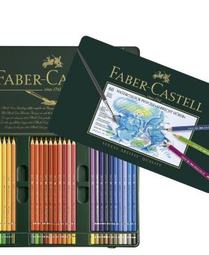 Creioane colorate acuarela Albrecht Durer Faber Castell 60 culori