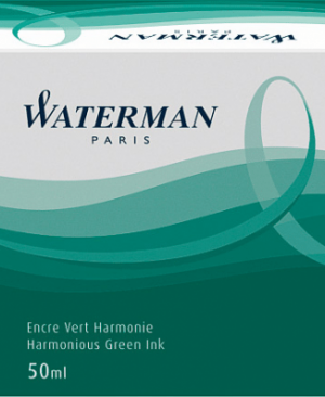 cerneala waterman 50ml verde permanent