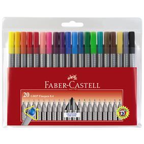 liner 04 mm grip faber castell 20 culori