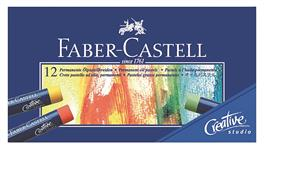 Creioane ulei pastel Faber Castell 12 culori