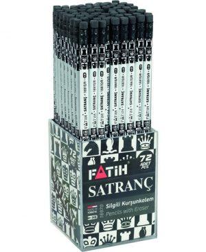 Creion negru cu radiera Satranc Fatih