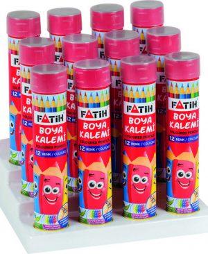 Creioane color tub metalic Fatih