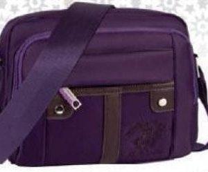 Geanta umar Polo Club 23cm violet