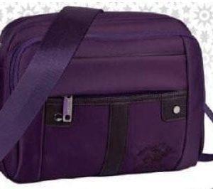 Geanta umar Polo Club 27cm violet