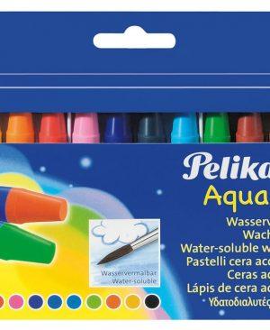 Creioane cerate Pelikan 12 culori