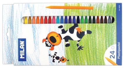 Creioane color 24 cerat Milan
