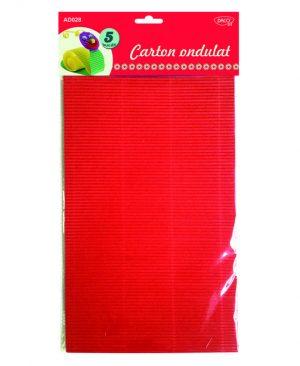 Carton ondulat A4 Daco 5 Culori