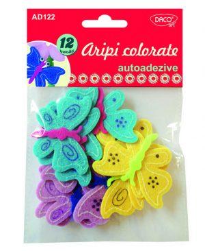 Accesorii craft aripi colorate pasla Daco