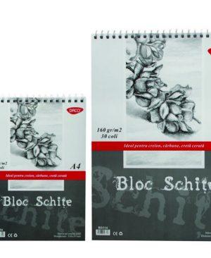 bloc desen a3 schite daco 160g 30 file