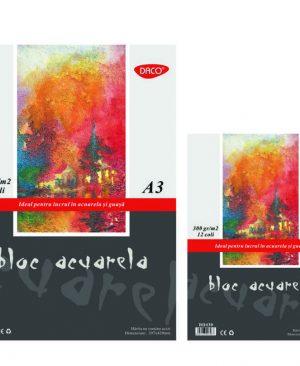 Bloc A4 acuarela 300g 12 file Daco