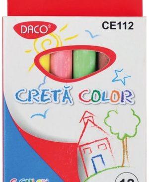 Creta color rotunda Daco set 12