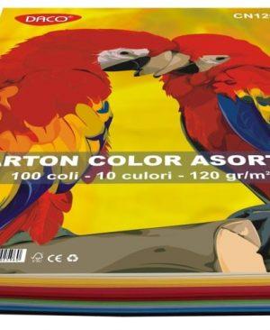 Carton Color A4 120g Daco 10 Culori