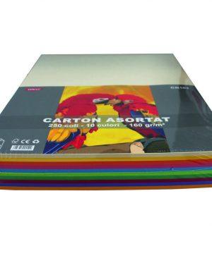 Carton Color A3 160g Daco 10 Culori
