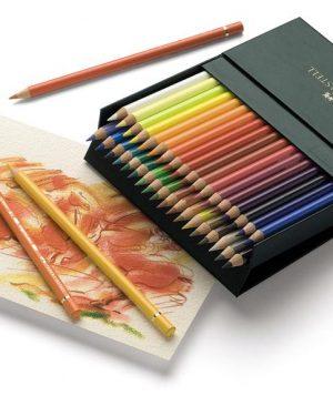 creioane colorate polychromos 36 culori cutie studio faber castell