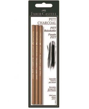 Creion carbune presat Pitt Monochrome Faber Castell