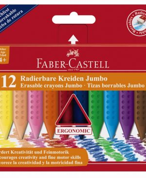 Creioane colorate plastic Faber Castell