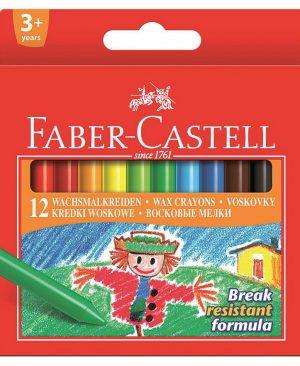 Creioane cerate Faber Castell