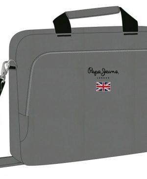 Geanta de umarPepe Jeans Soho laptop40cm gri