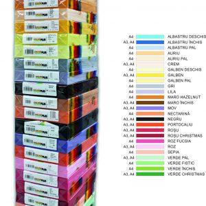 Hartie-colorata-80g/mp-a4-roz