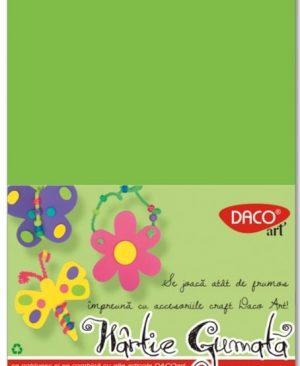 Hartie gumata 20x30cm 10 culori Daco