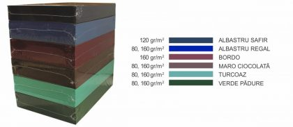hartie colorata a4 daco 500 coli