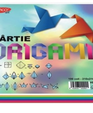 Hartie origami 21x21cm 100/set Daco
