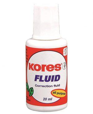 Fluid corector cu solvent 20ml Kores