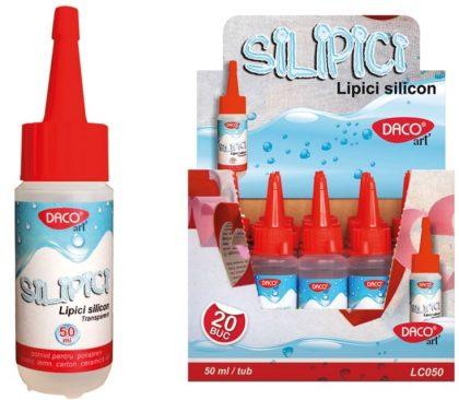lipici silicon 100 ml silipici daco