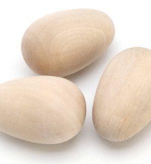 oua din lemn