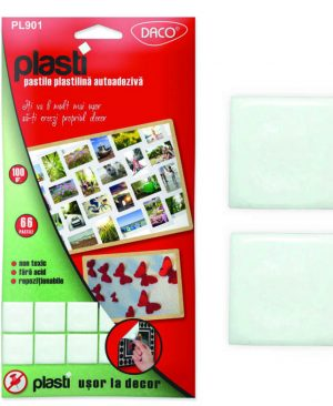 Pastile plastilina autoadeziva plasti Daco