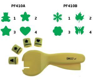 perforator hobby hartie Daco set 4