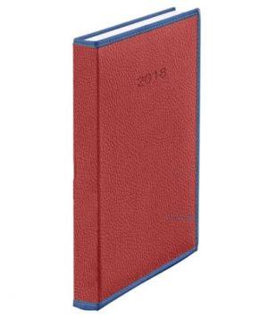 agenda datata a5 herlitz 2018 premium vienna bordo 9474980