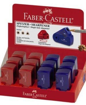 ascutitoare dubla cu rezervor sleeve faber castell