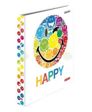 caiet-mecanic-a4-herlitz-smiley-world-2-inele-happy-alb