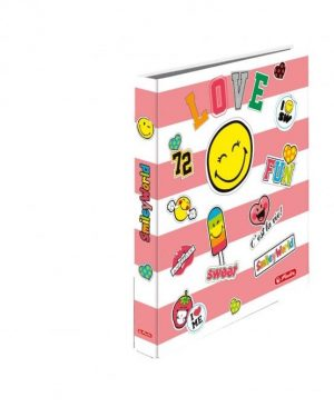 caiet-mecanic-a4-herlitz-smiley-world-girly-2-inele-girly
