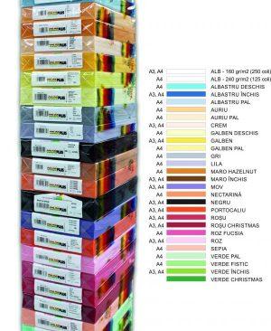 Carton Color A4 Clariana