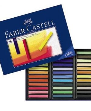 Creioane pastel soft Faber Castell 36 culori