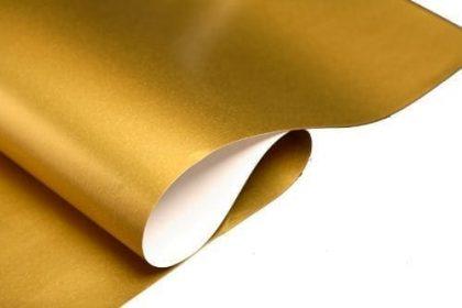 hartie impachetat cadouri 46x63cm diferite culori auriu