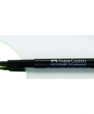 marker permanent f cu radiera multimark faber castell