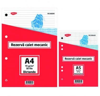 rezerva-caiet-mecanic-a4-daco