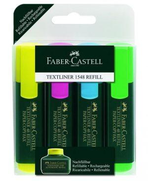 Textmarker Faber Castell 1548 Set 4
