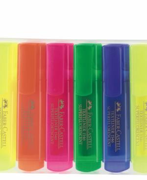 Textmarker superfluorescent set 6 Faber Castell
