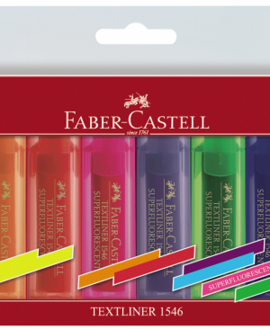 textmarker superfluorescent 1546 faber-castell set 8