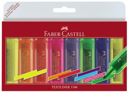 textmarker superfluorescent 1546 faber-castell set 8
