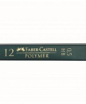 mina creion 0.5mm polymer faber castell