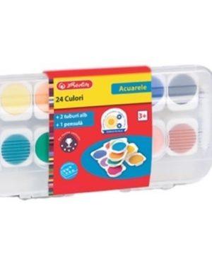 Acuarele 12 culori detasabile Herlitz