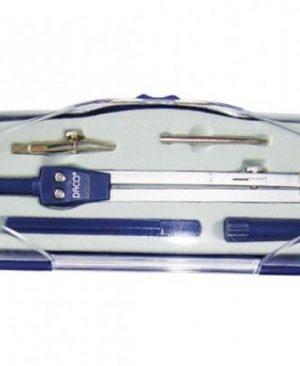 Compas metalic Daco cu accesorii