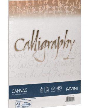 hartie caligrafica 100g a4 favini canvas