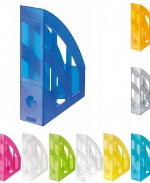 suport dosare plastic herlitz translucid